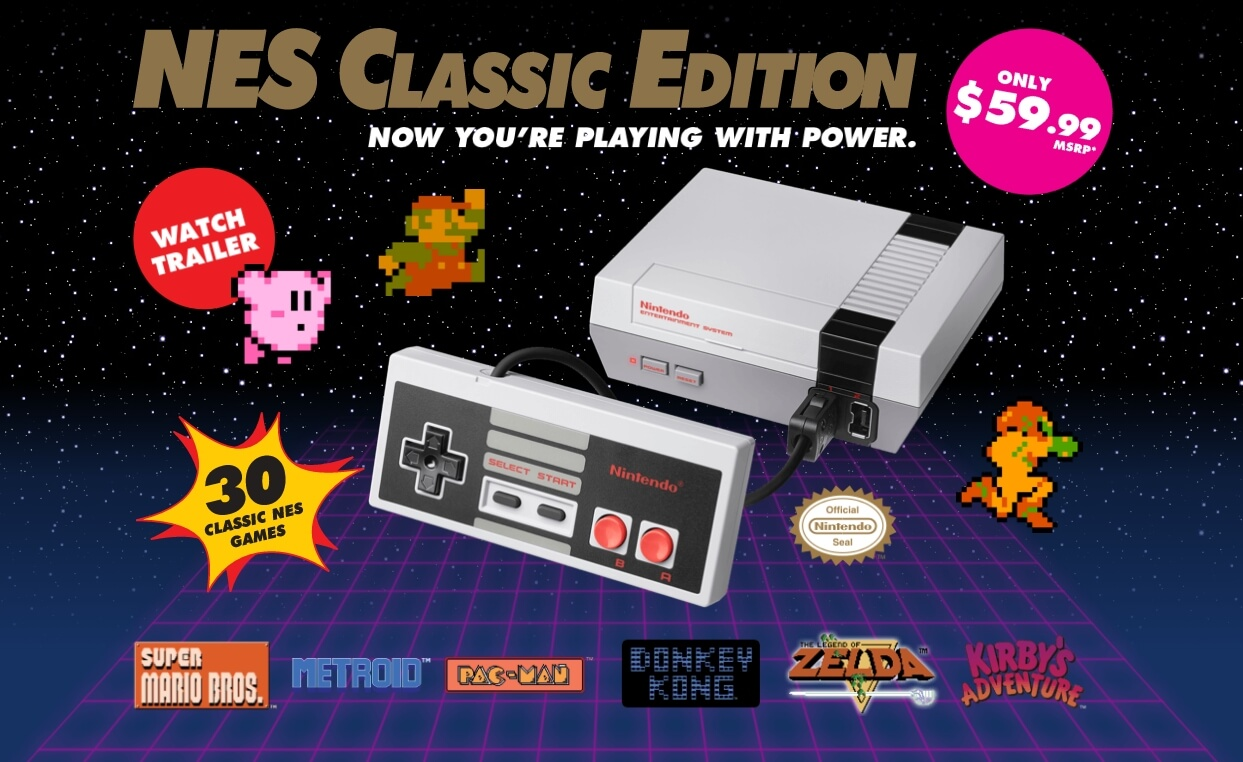 Nintendo's uber popular NES Classic Edition returns in June
