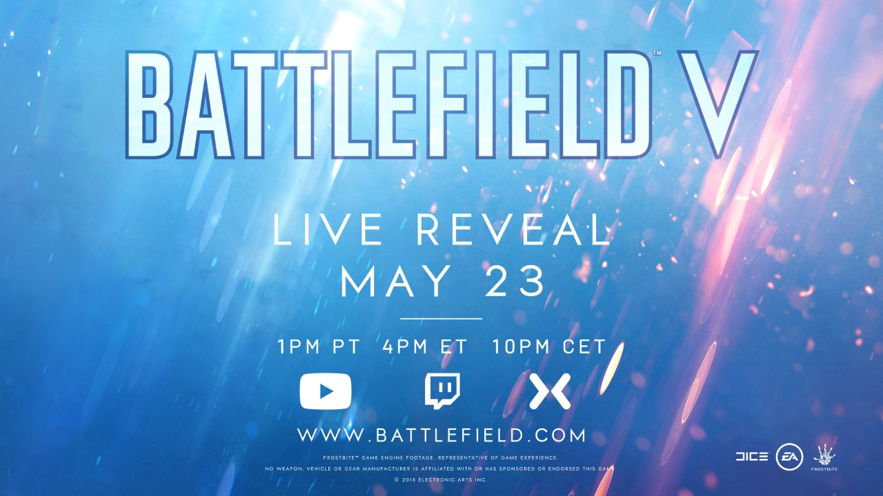 Battlefield V is Definitely a Thing, Reveal Coming Next Week