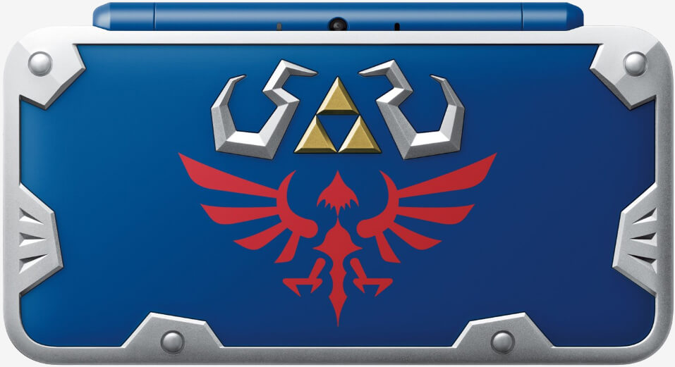 GameStop-exclusive New 2DS XL Hylian Shield Edition launches July 2