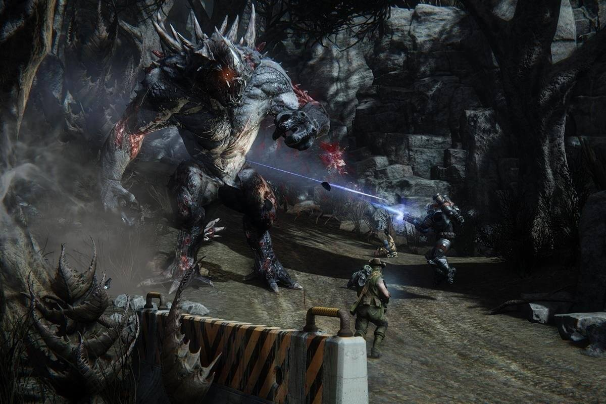 Evolve's dedicated servers and free-to-play version are shutting down