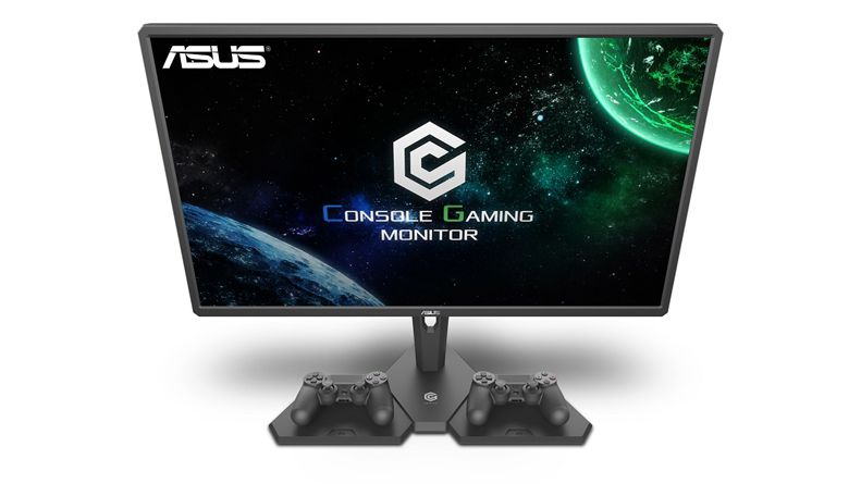 Asus delivers two large FreeSync monitors with HDR for console gamers