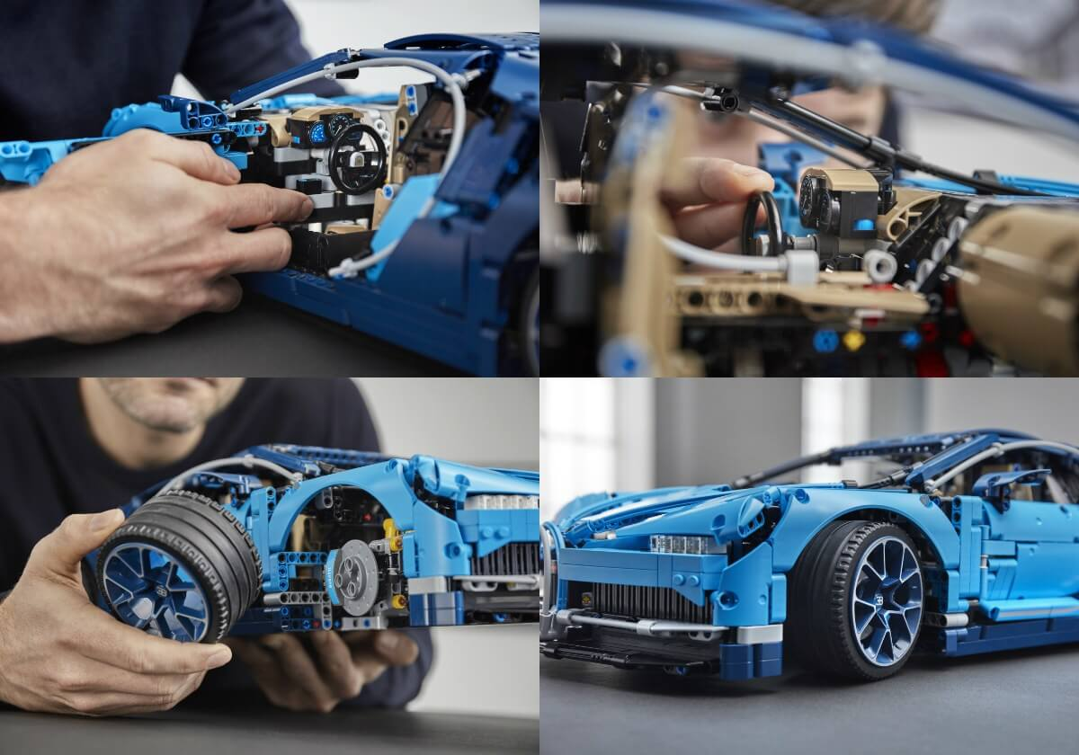 lego 39 s 1 8 bugatti chiron technic kit comes with 3599. Black Bedroom Furniture Sets. Home Design Ideas