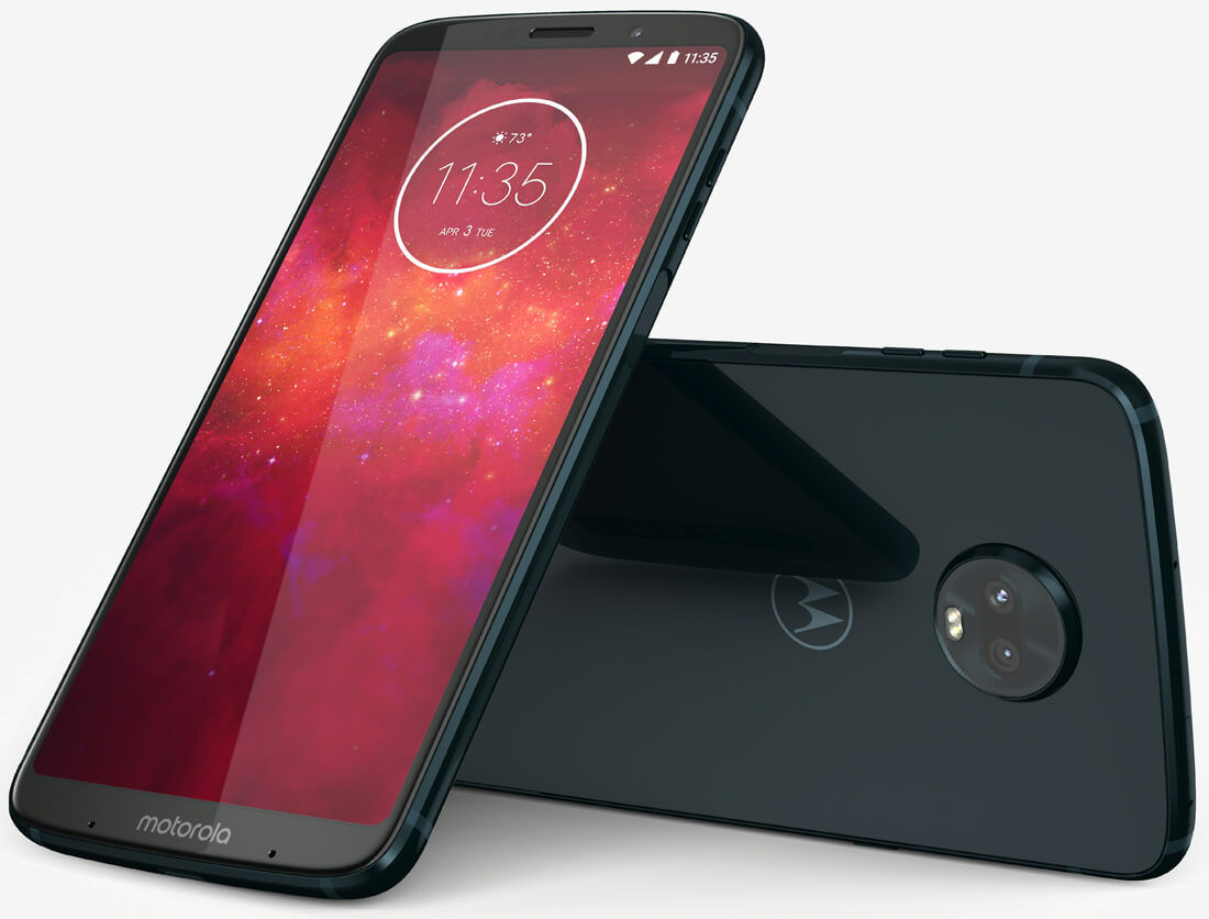 The Moto Z3 Play is Motorola's latest modular smartphone with a bigger screen and dual rear cameras