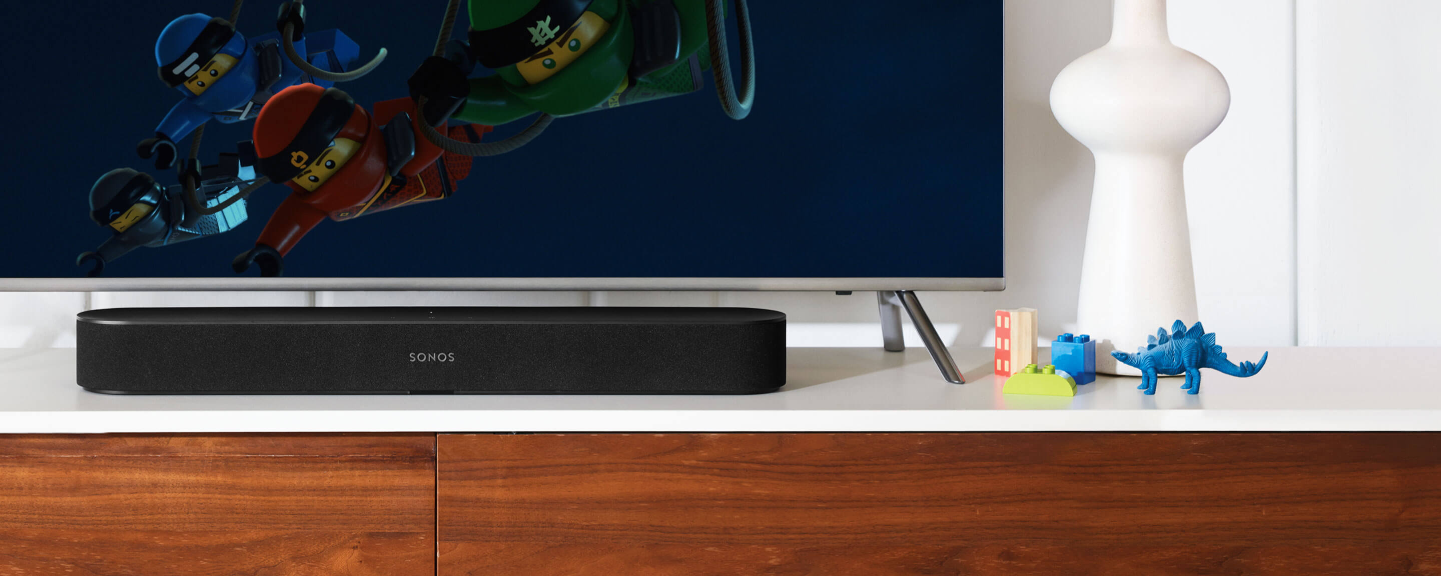 Sonos Beam is a premium home theater speaker with choice of multiple digital assistants