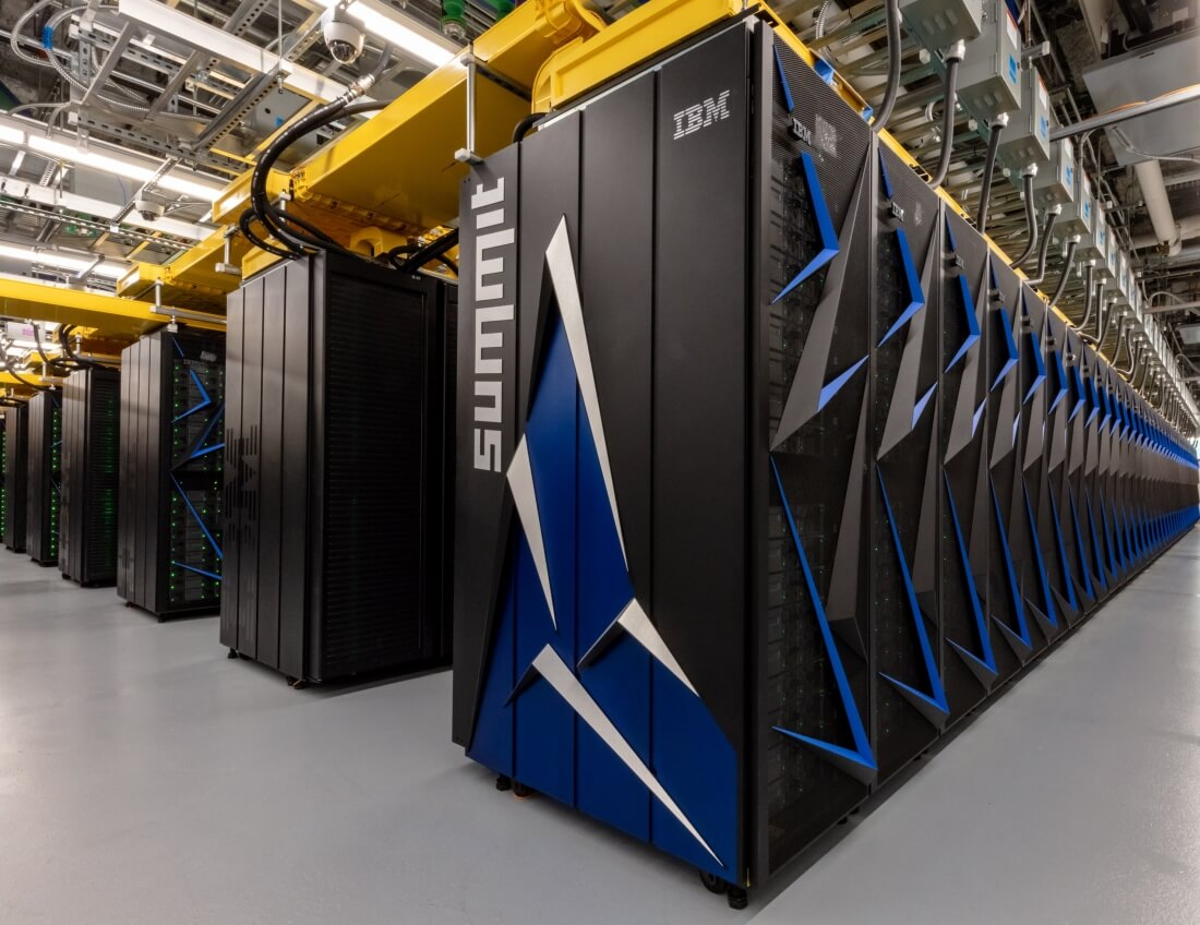 In the United States created the world's most powerful supercomputer, Summit