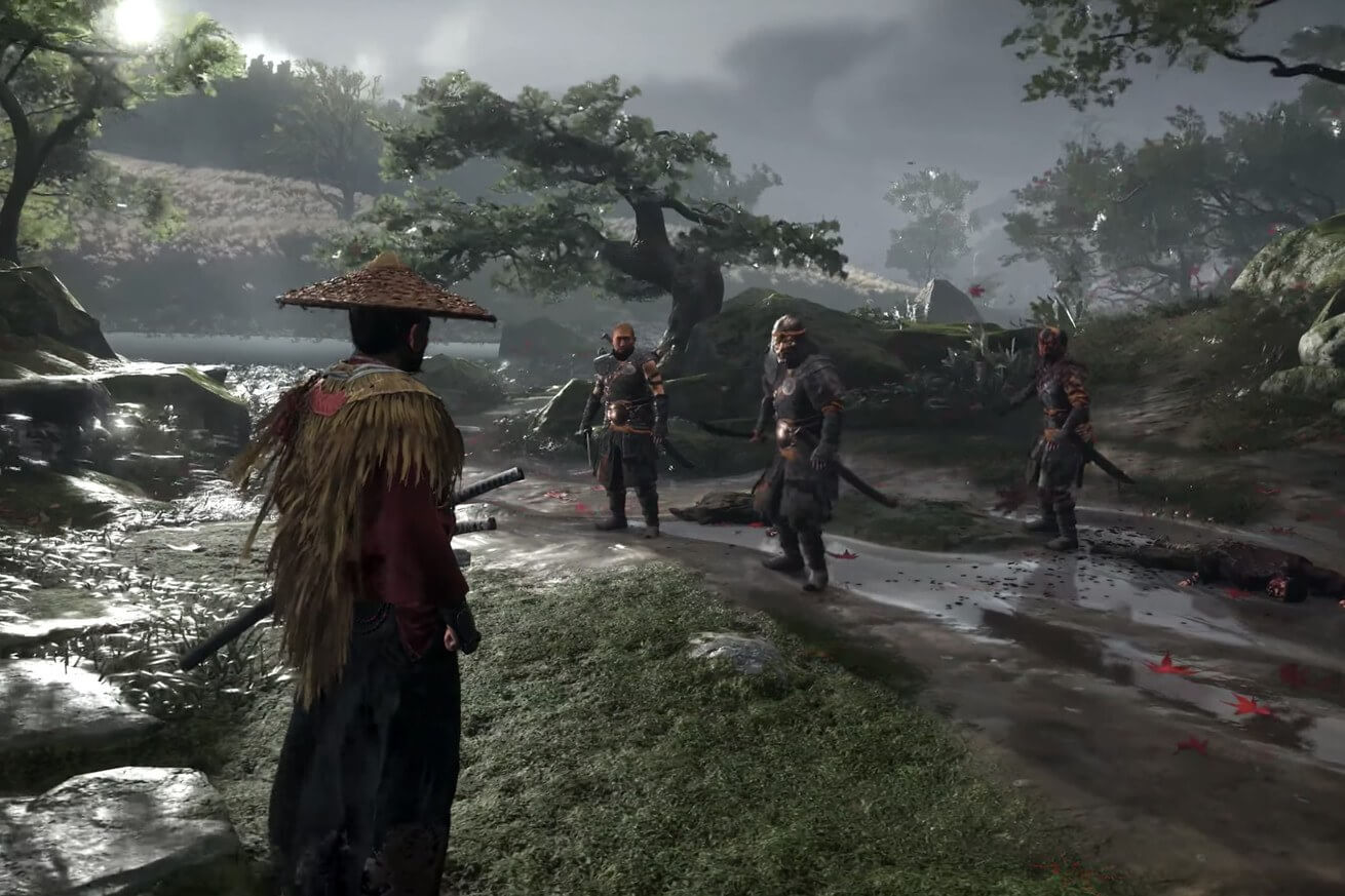Sony Treated Us To 8 Minutes Of Ghost Of Tsushima And It