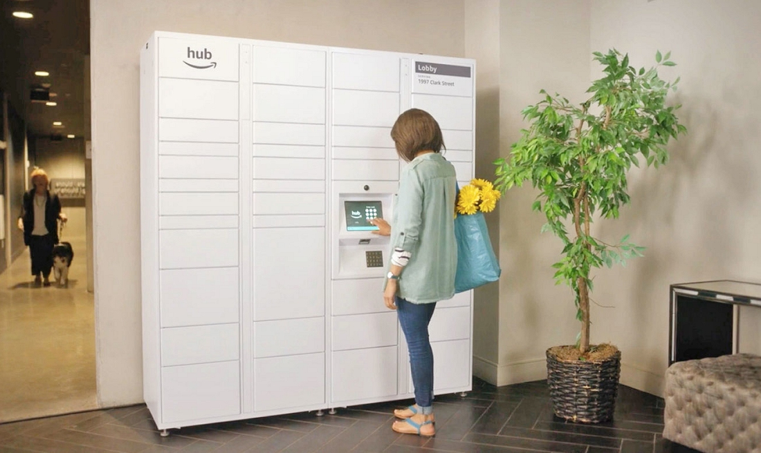 Amazon Hub lockers now available to 500,000 USA residents