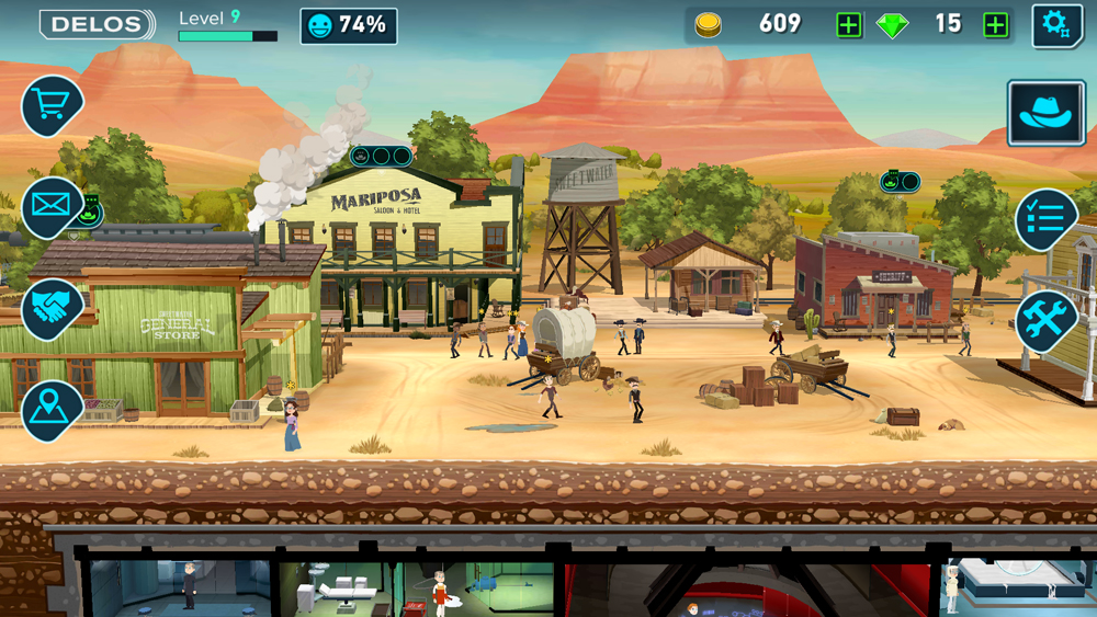 Bethesda sues, says Westworld game is a blatant rip-off of Fallout Shelter