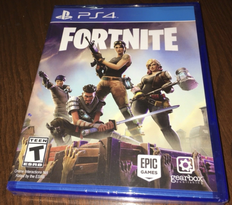 Retail copies of Fortnite are fetching hundreds of bucks online