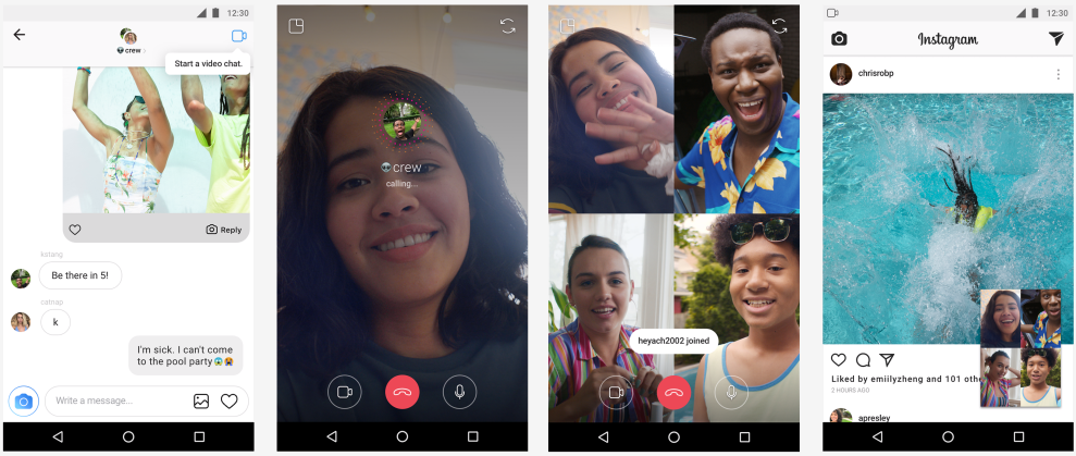 Instagram's video chat, custom AR filters now rolling out on Android