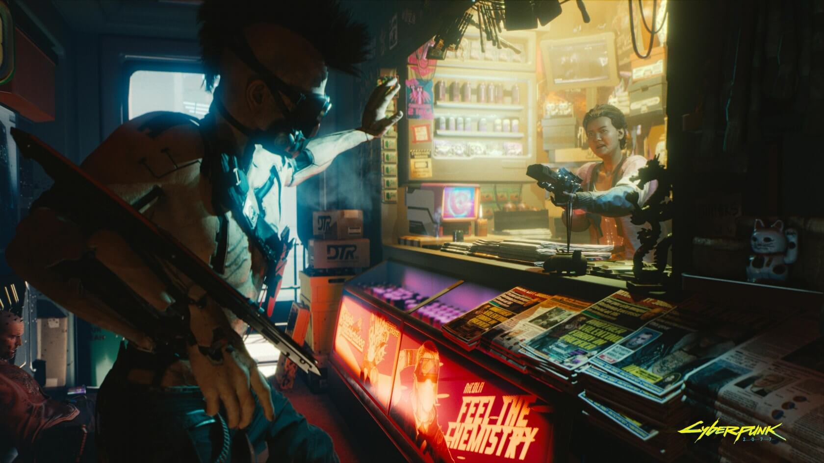 We could be waiting a few more years for Cyberpunk 2077