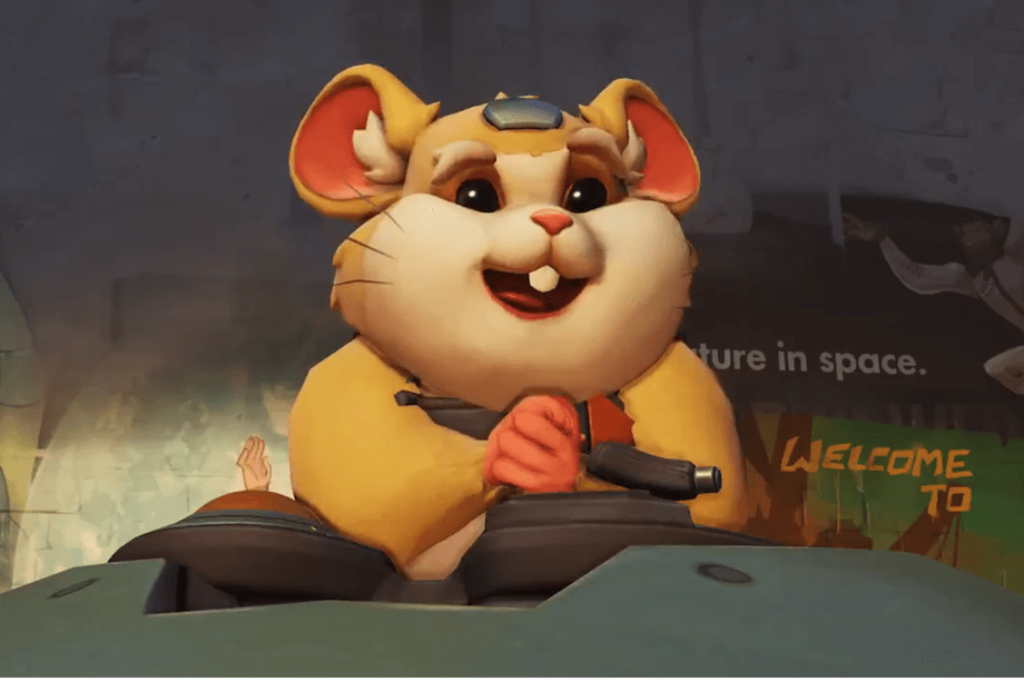 Overwatch's 28th hero is a hamster in a giant ball-shaped mech