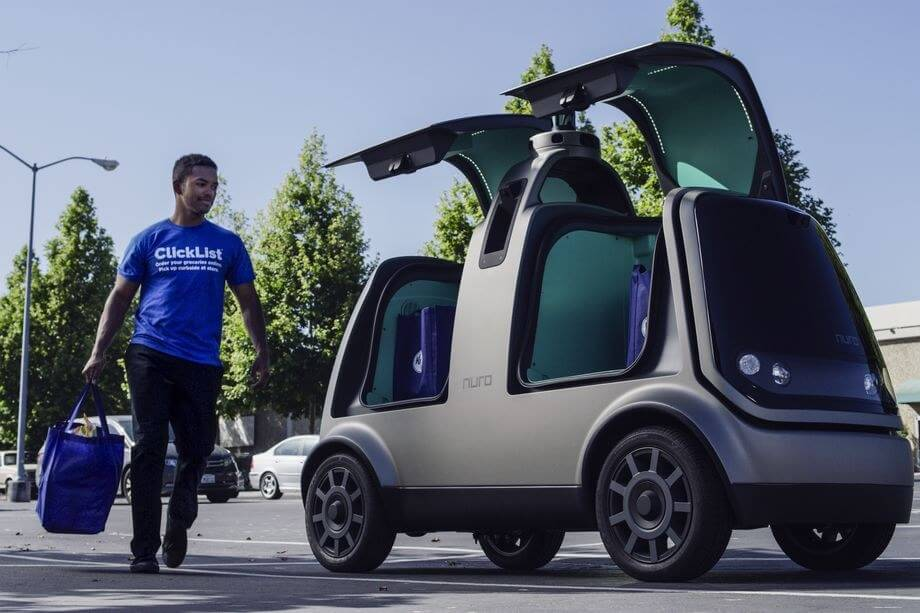 Kroger is developing an autonomous grocery delivery service