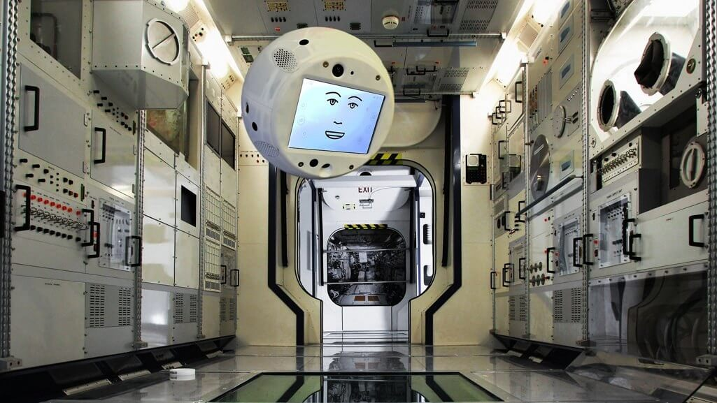 ISS crew members will soon be joined by a floating, autonomous robot helper named 'CIMON'