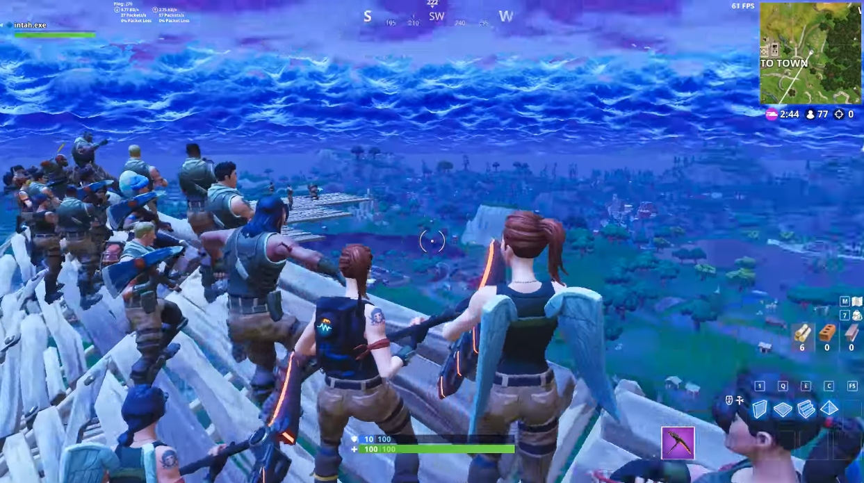 Fortnite Player Sabotages Rocket Launch Viewing Party Now