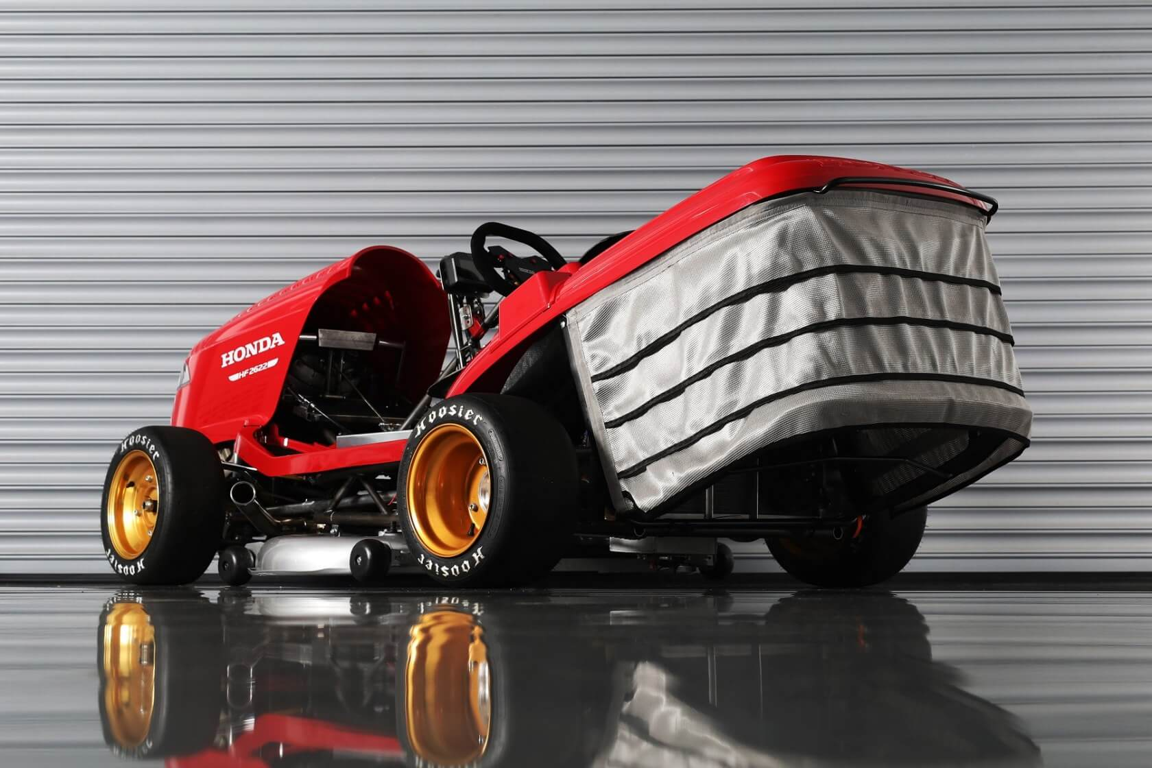 Honda's Mean Mower V2 aims for 150 miles per hour