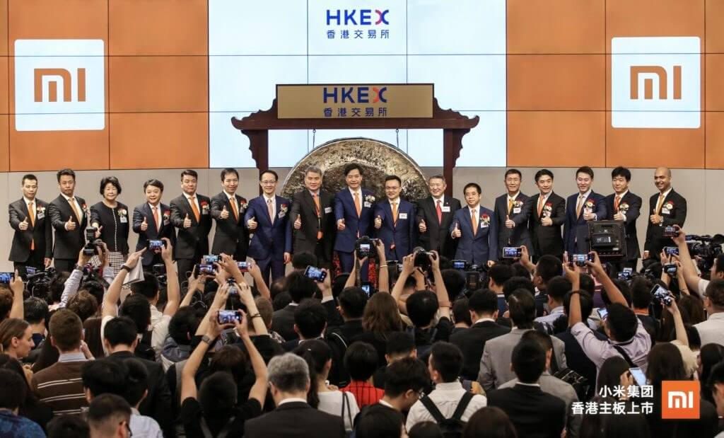 Xiaomi becomes the world's third-most valuable public smartphone company following $50 billion IPO