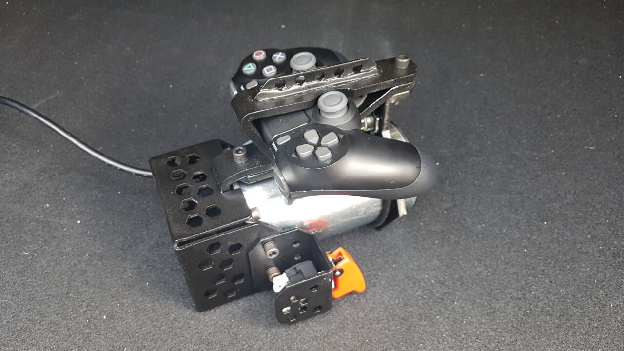 This 'insane' PS4/XB1 controller mod is an industrial-grade rumble pack