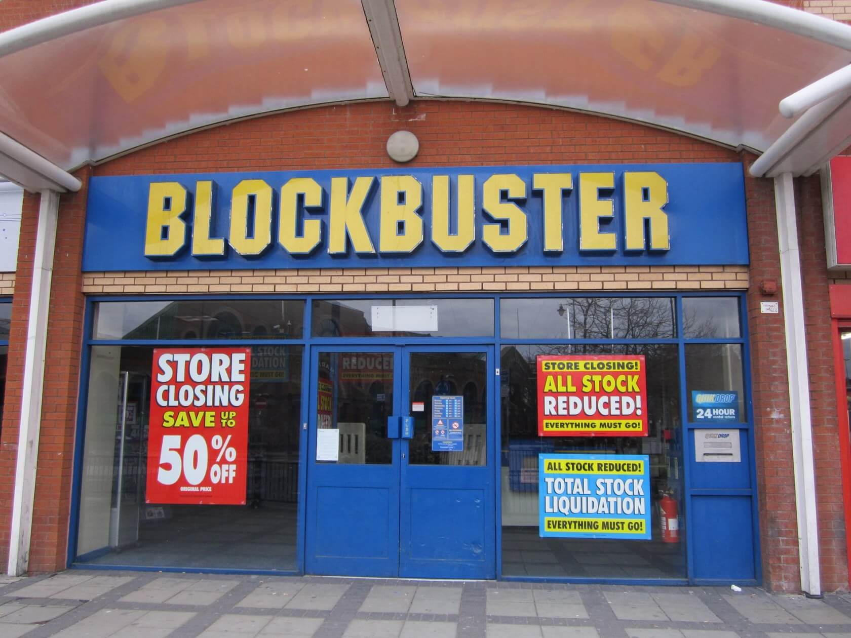 Guess what? There's only one Blockbuster store left now