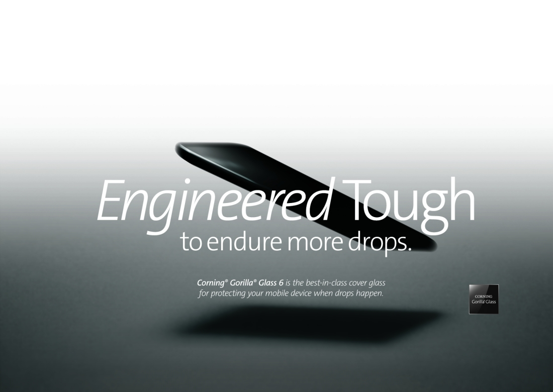 Gorilla Glass 6 evolves to withstand more drops
