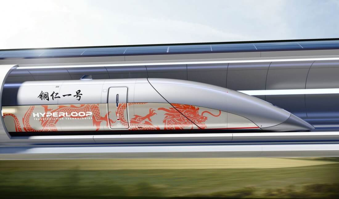 Hyperloop Transportation Technologies has signed a deal to develop a track in China