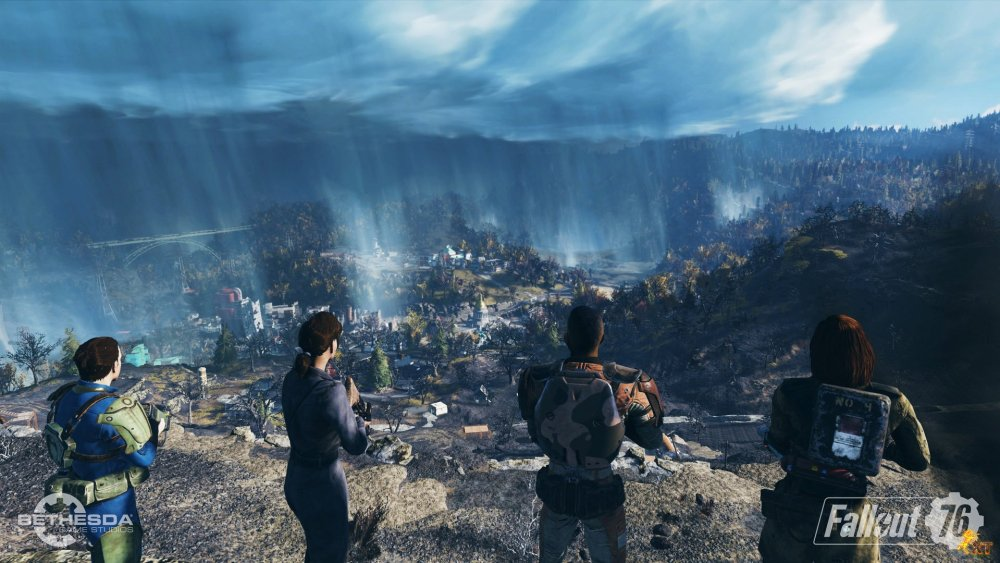 Fallout 76 Beta Begins In October 2018