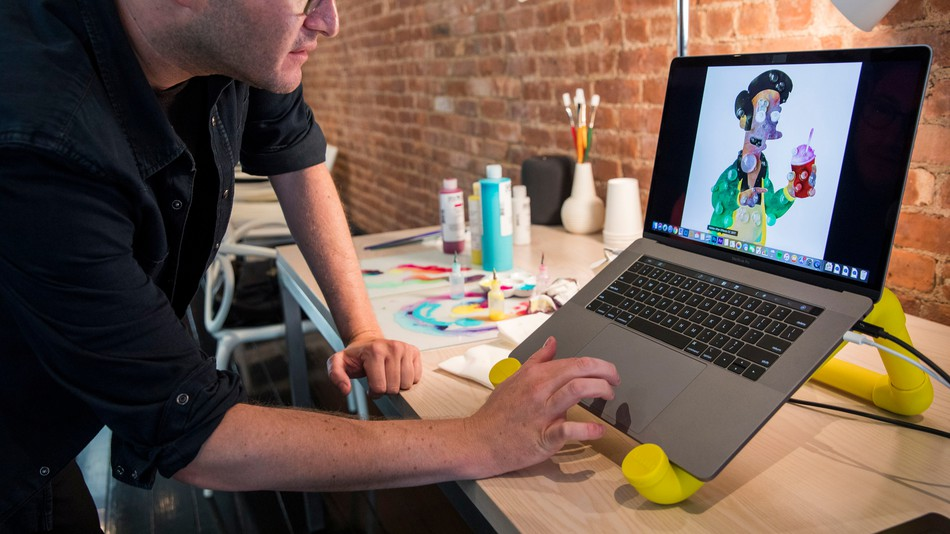 You might be able to resize and move future MacBook Protrackpads