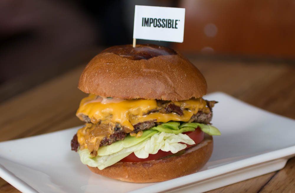 Meat-free Impossible Burger is safe to eat, FDA declares