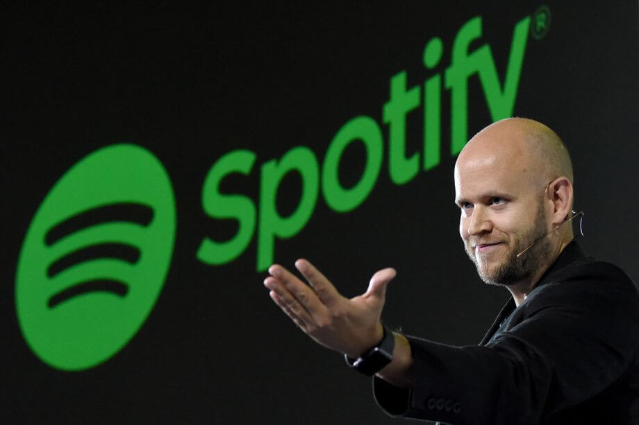 Stock market newbie Spotify hits targets in race with Apple Music