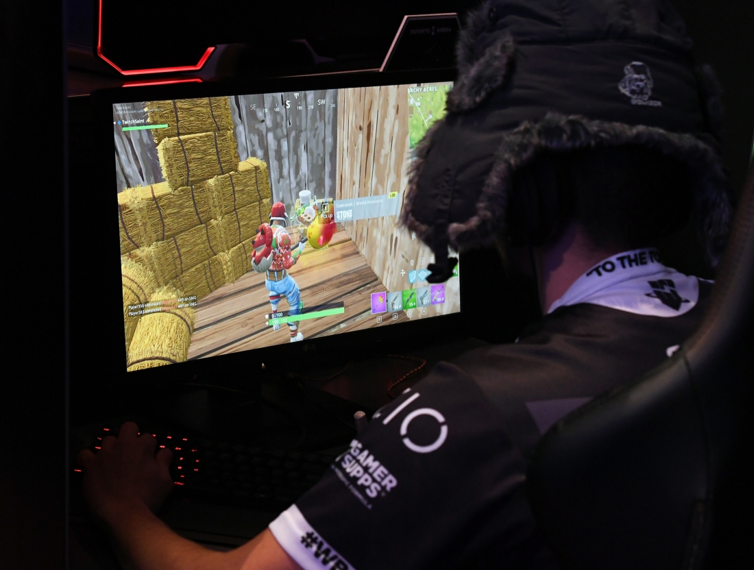 Parents hiring coaches to help their kids get better at Fortnite