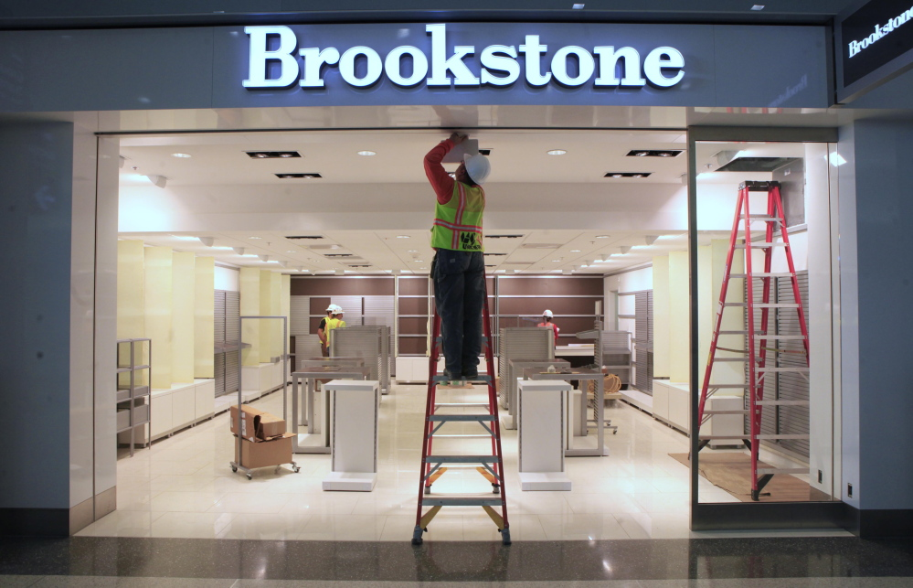 Brookstone joins RadioShack, Toys 'R' Us and others as
