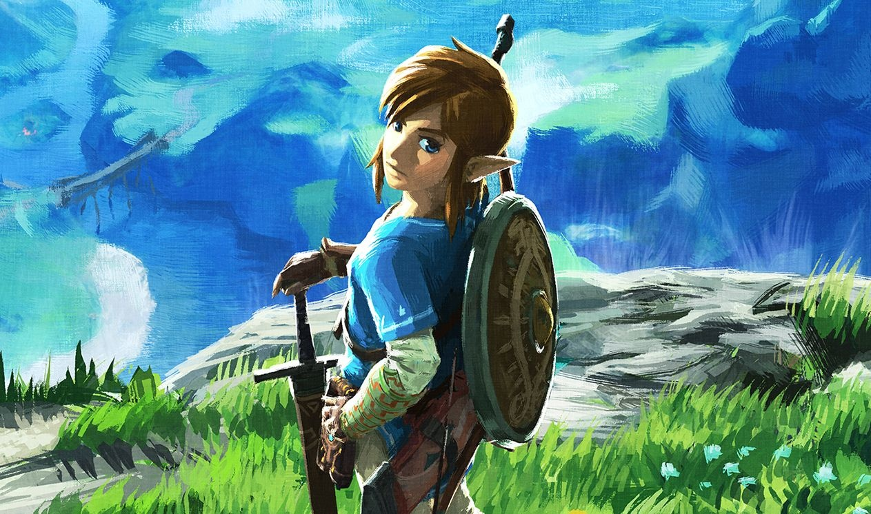 the legend of zelda breath of the wild added to the series
