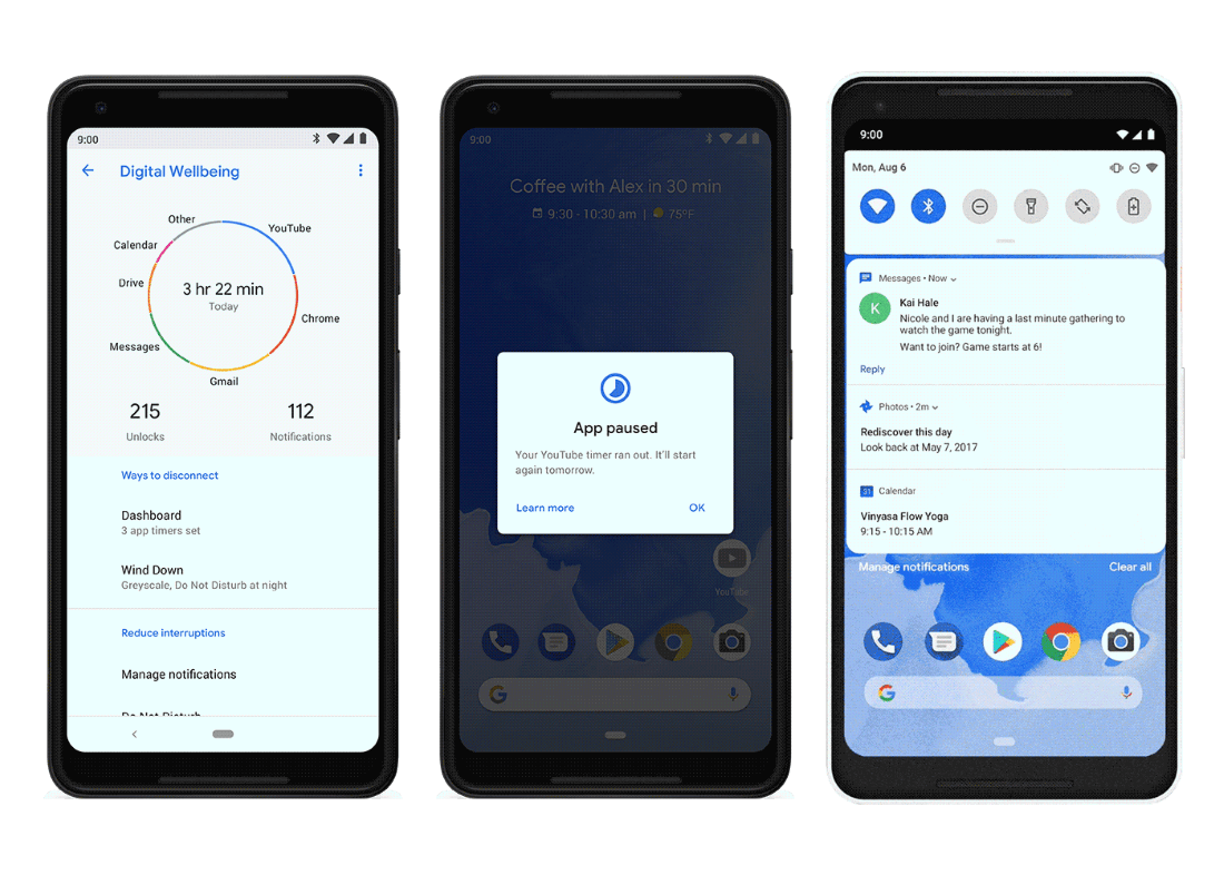 Android 9 'Pie' has officially launched with a focus on