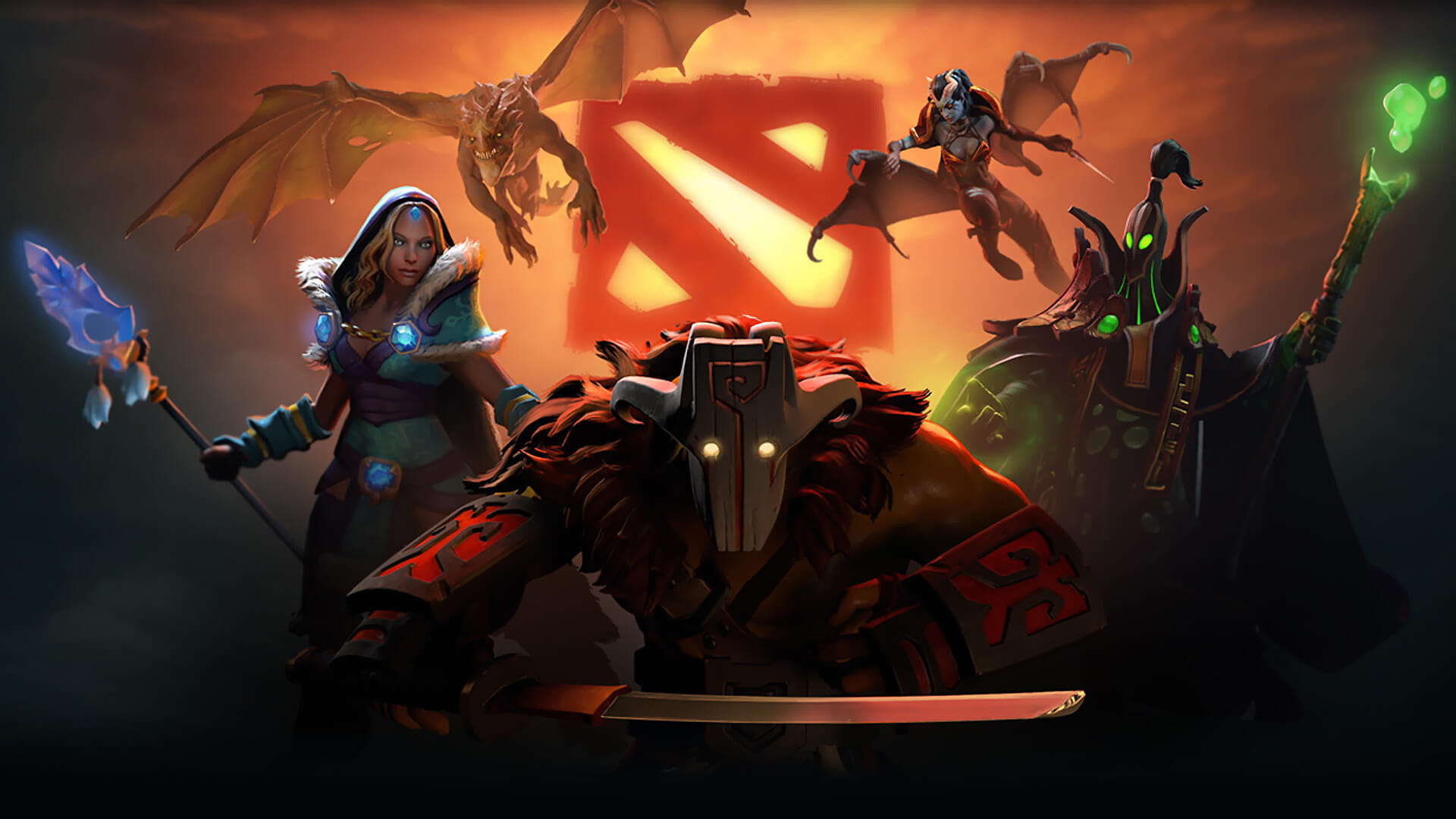 A team of AI bots smashed humans at Dota 2