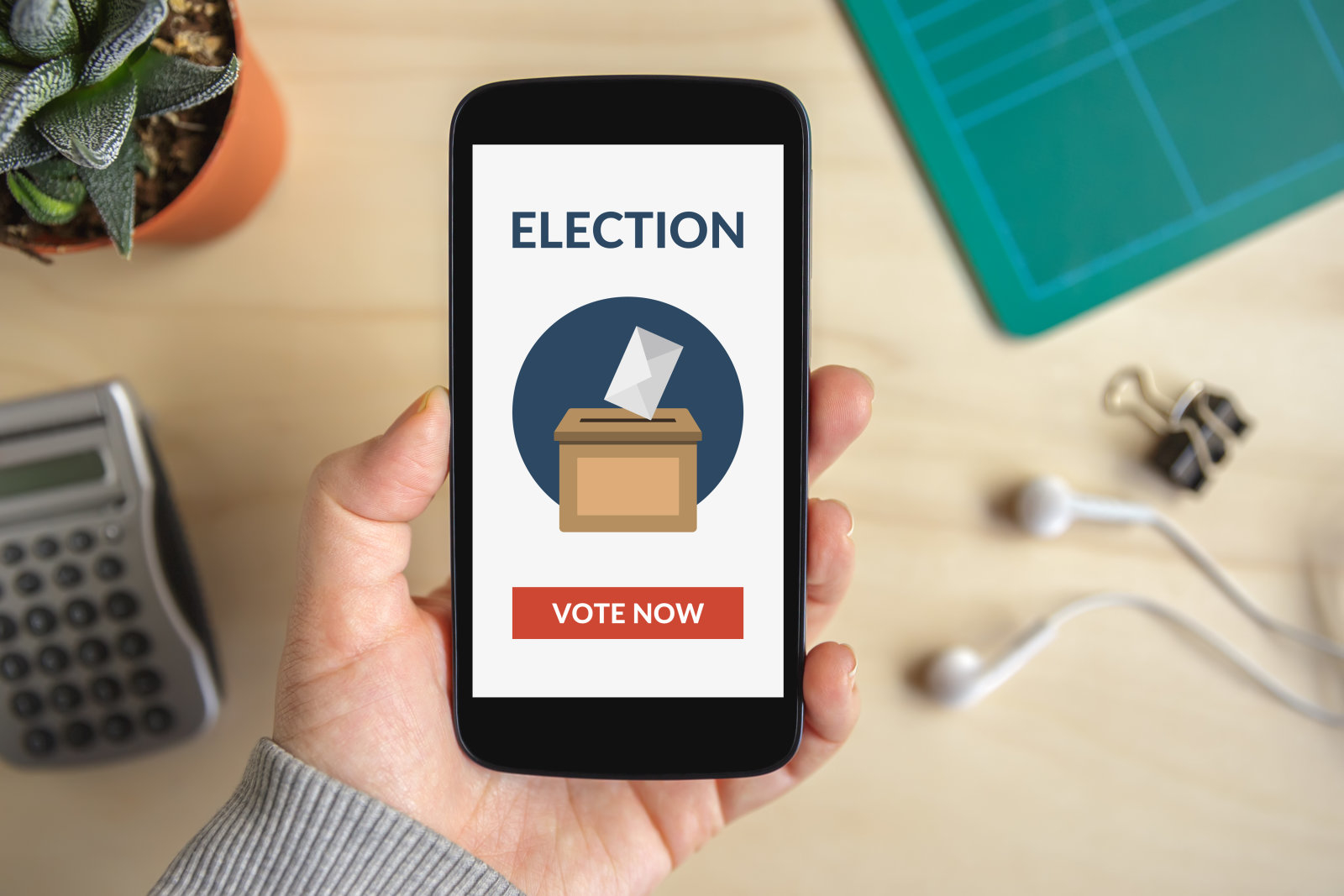 West Virginia to test mobile phone voting in midterm elections