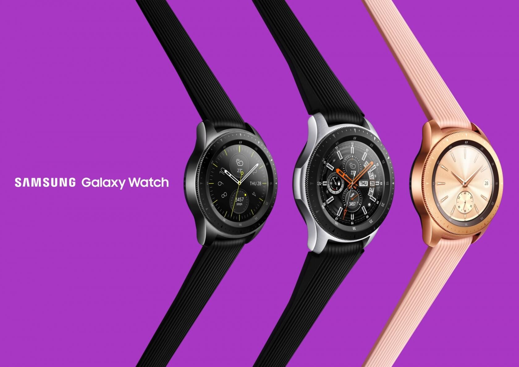 Samsung unveils the LTE-enabled Galaxy Watch with 80+ hours of battery life