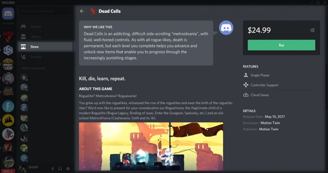 how to stop steam discord revurb