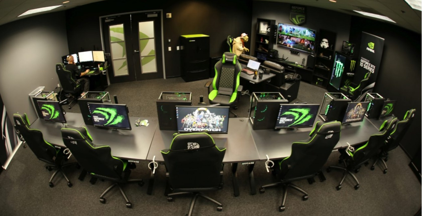 Nvidia opening eSports boot camps in Germany and China