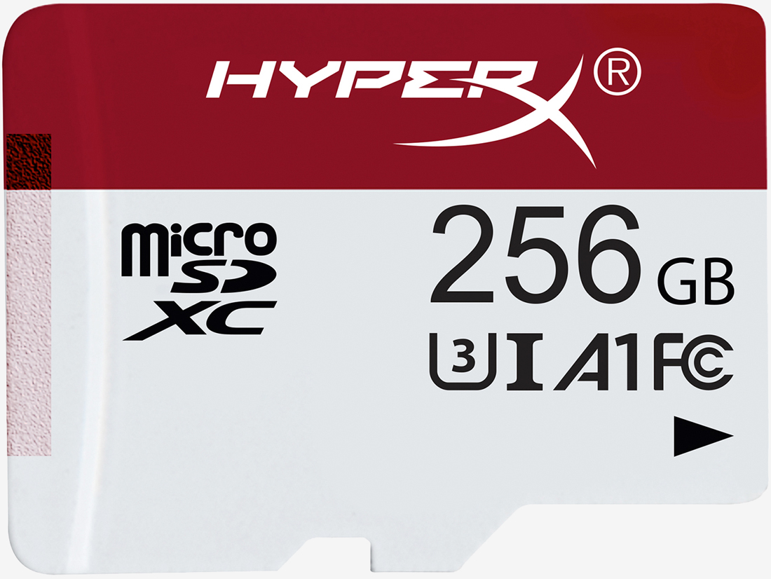 HyperX launches microSD card line targeting gamers