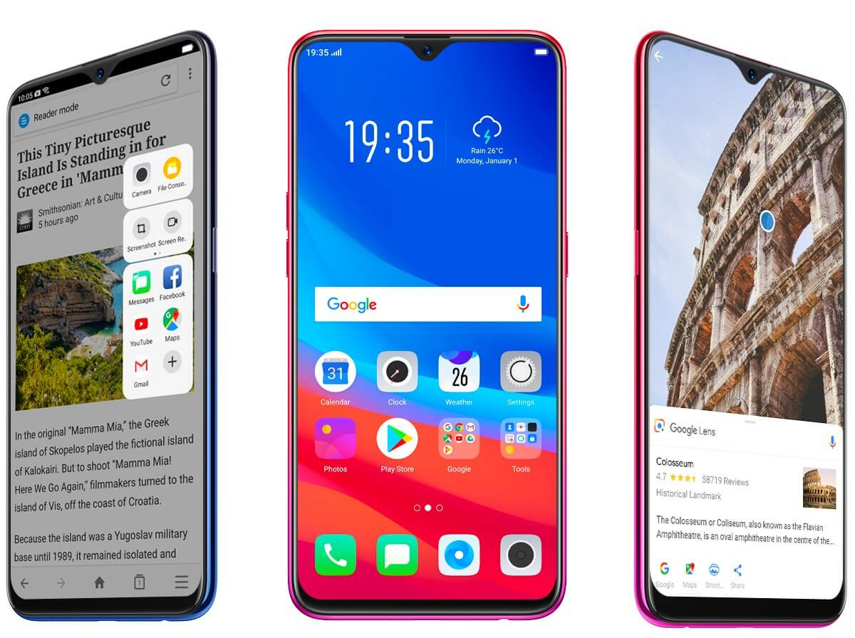Oppo's F9 has a tiny notch, first phone to use Gorilla Glass 6