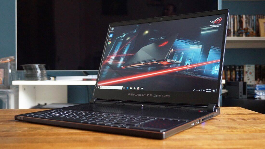 Asus' upcoming ultra-thin Zephyrus S gaming laptop packs quite a punch