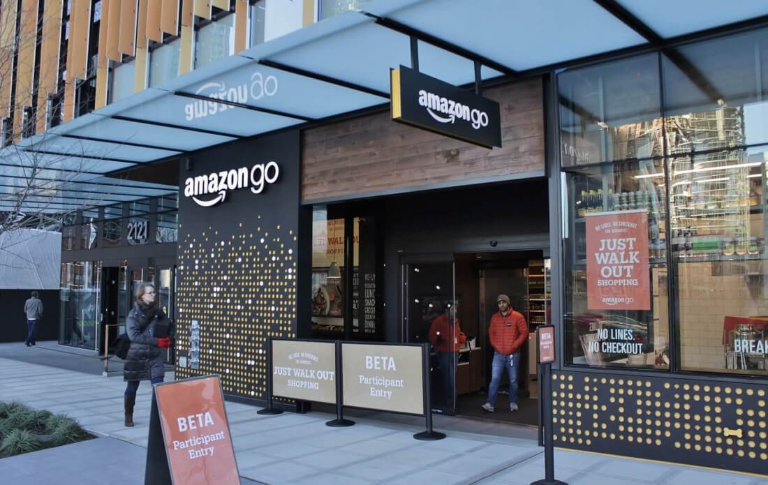 Amazon's second cashier-less 'Go' location launches in Seattle