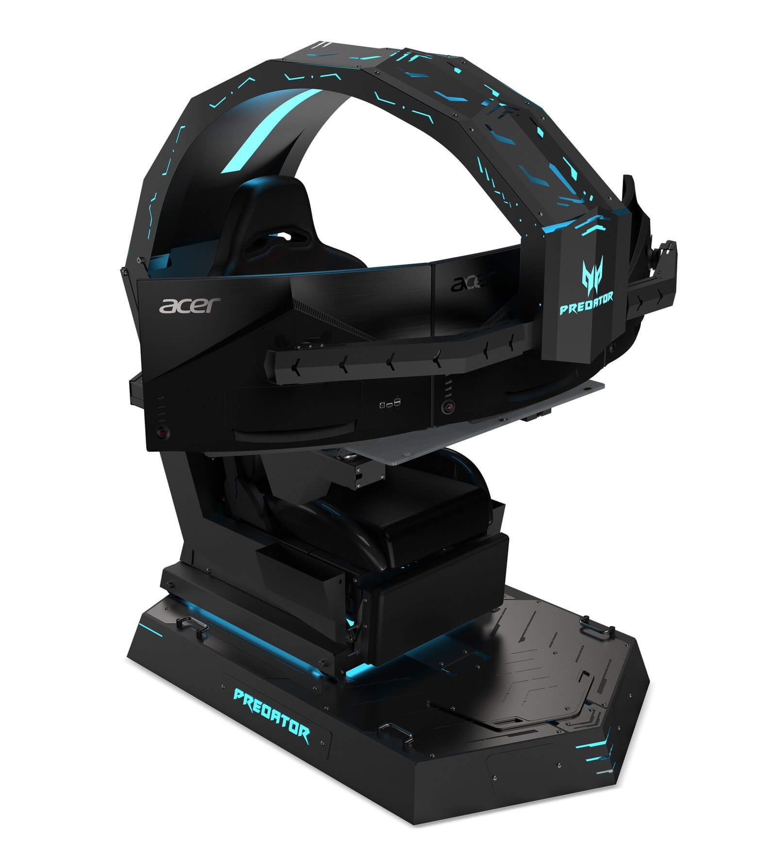 Fine Acer Reveals Monstrous Predator Thronos Gaming Chair Short Links Chair Design For Home Short Linksinfo