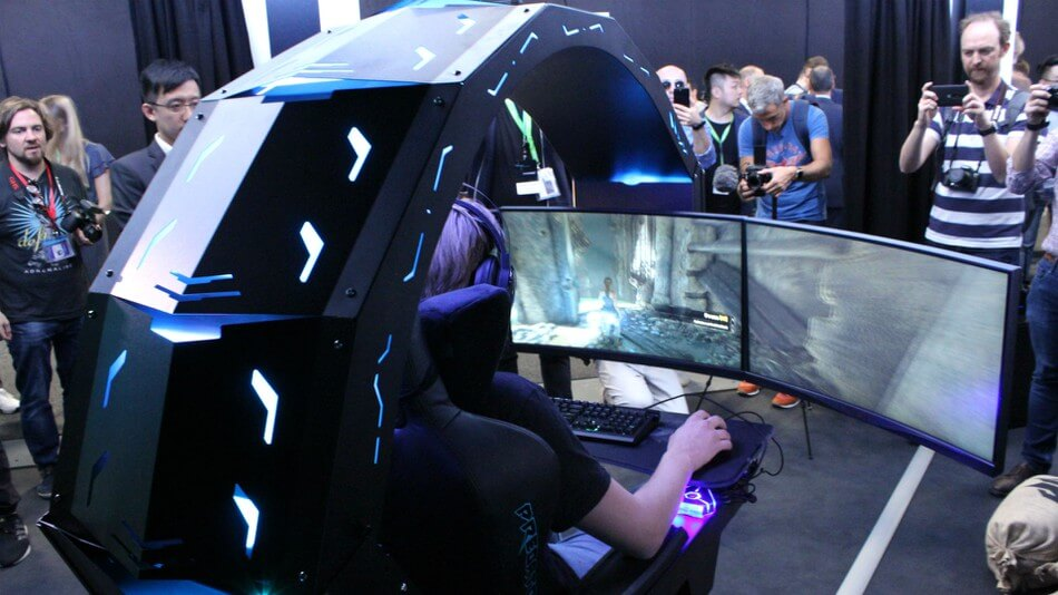 Acer Reveals Monstrous Predator Thronos Gaming Quot Chair