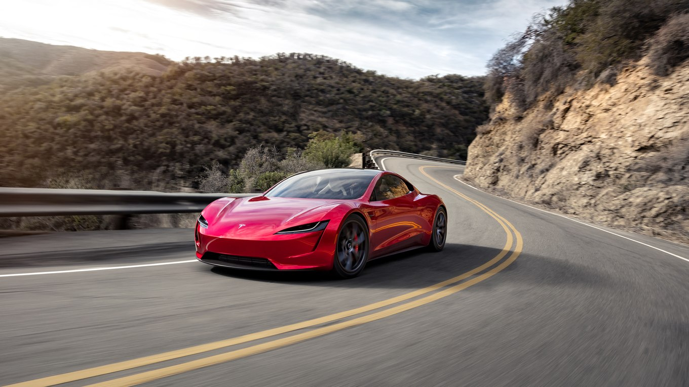 Tesla shares new photos of the 2020 Roadster