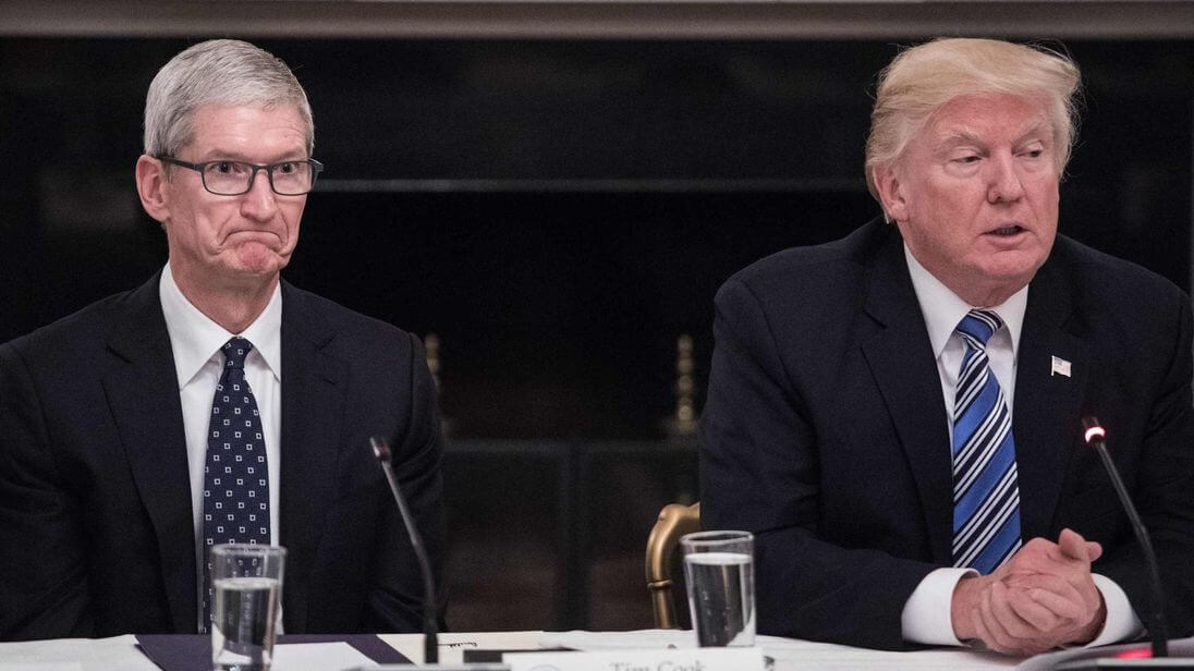Trump and Apple now at war