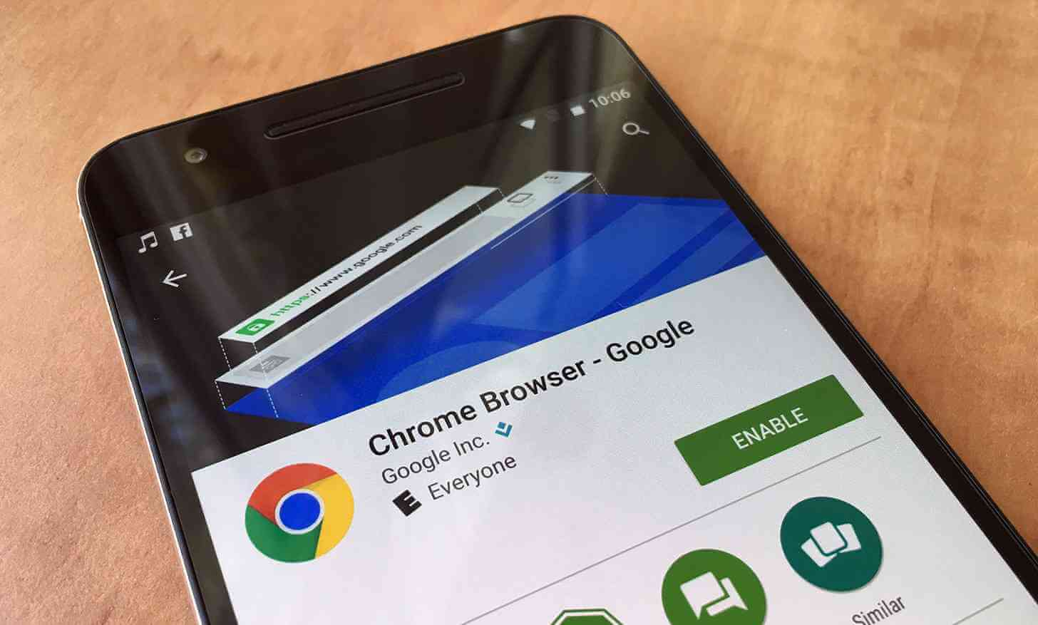 Chrome on Android to label sites that load quickly