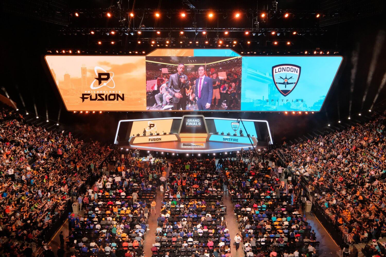 Overwatch League dials it up a notch: NFL and NBA team owners are investing