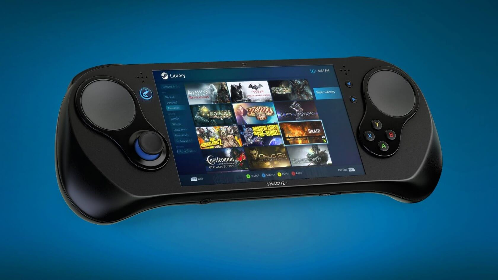 AMD will host SMACH Z handheld gaming console at TGS 2018 booth