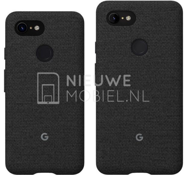 Pixel 3 and Pixel 3 XL Cases Appear in New Photos